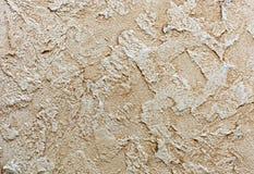 Achtergrond en textuur van decoratief pleister om de muren en de plafonds te behandelen achtergrond voor ontwerp en decoratie royalty-vrije stock fotografie