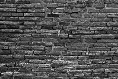 Achtergrond en textuur van steenmuur Stock Foto