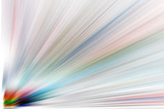 Achtergrond - gekleurde explosie stock illustratie