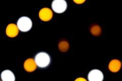 Achtergrond: Gekleurde Leds Bokeh Stock Fotografie