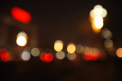 Achtergrond - Gekleurde lichte cluster Stock Fotografie