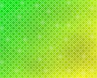 Achtergrond - Gekleurde stijl, groen en geel met ruittextuur Stock Afbeelding