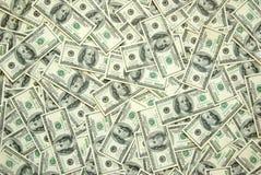 Achtergrond geld Stock Foto's