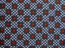 Achtergrond geleid om rode vierkanten Stock Fotografie