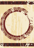 Achtergrond in Griekse stijl Royalty-vrije Stock Afbeeldingen