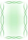 Achtergrond - groene lijnen vector illustratie