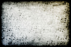 Achtergrond Grunge van Themed van de muziek de Abstracte royalty-vrije illustratie