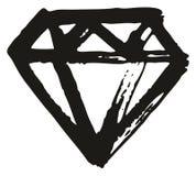 Achtergrond het Elementenreeks 02 van Pen Diamond Freehand Pattern & vector illustratie
