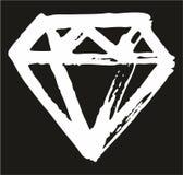 Achtergrond het Elementenreeks 01 van Pen Diamond Freehand Pattern & vector illustratie