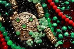 Achtergrond-in het oosten ornamenten Stock Fotografie