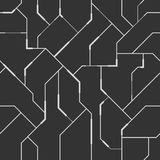 Achtergrond in high-tech stijl Abstract vector naadloos patroon royalty-vrije illustratie