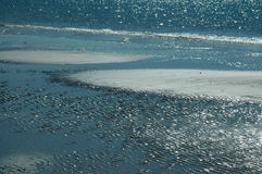 Achtergrond II van het strand Royalty-vrije Stock Afbeeldingen