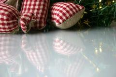 Achtergrond II van Kerstmis Stock Afbeelding