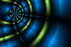 Achtergrond III van lichten vector illustratie