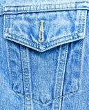 Achtergrond jeans Royalty-vrije Stock Fotografie