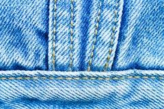 Achtergrond jeans Royalty-vrije Stock Afbeeldingen