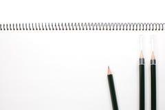 Lege het notitieboekje van het gezichts Witboek royalty-vrije stock afbeelding