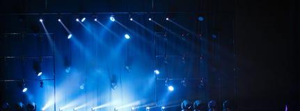 Achtergrond Licht van de scène tijdens het overleg Stock Foto's