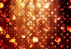 Achtergrond Lichten royalty-vrije stock afbeeldingen