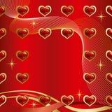 Achtergrond Liefde Stock Afbeelding