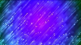 Achtergrond met aardig abstract blauw vuurwerk stock illustratie