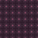 Achtergrond met abstract bloemenpatroon Royalty-vrije Stock Afbeelding