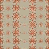 Achtergrond met abstract bloemenpatroon Royalty-vrije Stock Afbeeldingen