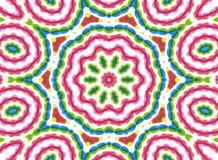 Achtergrond met abstract helder kleurenpatroon Stock Foto's