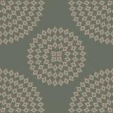 Achtergrond met abstract rond patroon Stock Afbeelding