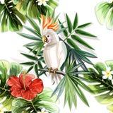 Achtergrond met abstracte bloem vector illustratie