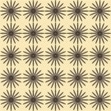 Achtergrond met abstracte bloemen Stock Afbeelding