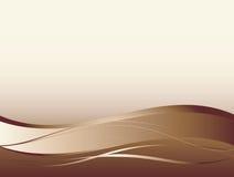 Achtergrond met abstracte vlotte lijnen Royalty-vrije Stock Foto