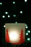 Achtergrond met beweging veroorzakende Kerstmis Royalty-vrije Stock Fotografie