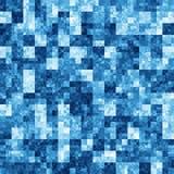 Achtergrond met blauw abstract patroon Royalty-vrije Stock Foto