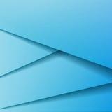 Achtergrond met blauw document Stock Afbeelding