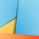 Achtergrond met blauw document Royalty-vrije Stock Fotografie