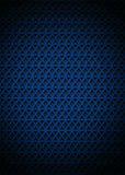Achtergrond met blauwe driehoek Stock Foto's