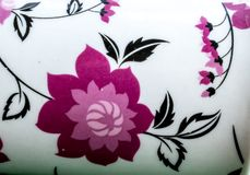 Achtergrond met bloemen Stock Foto