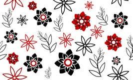 Achtergrond met bloemen Stock Afbeeldingen