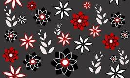 Achtergrond met bloemen Royalty-vrije Stock Afbeelding