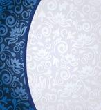 Achtergrond met bloemenpatroon vector illustratie