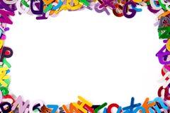 Achtergrond met brieven stock foto's