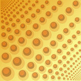 Achtergrond met cirkels Stock Afbeeldingen