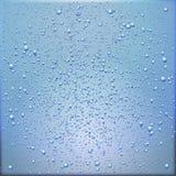 Achtergrond met de condensatie van waterdalingen royalty-vrije illustratie