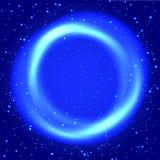 Achtergrond met deeltjes Stock Afbeelding