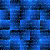 Achtergrond met digitale elementen vector illustratie