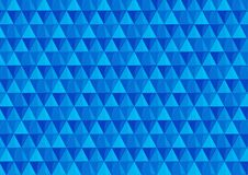 Achtergrond met driehoeken in koude kleuren Stock Afbeelding