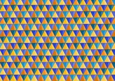 Achtergrond met driehoeken in twee tonen Stock Afbeelding