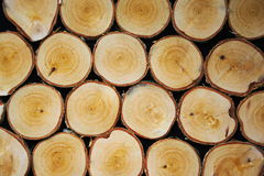 Achtergrond met een houten korreltextuur Stock Foto's
