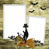 Achtergrond met frames Royalty-vrije Stock Fotografie